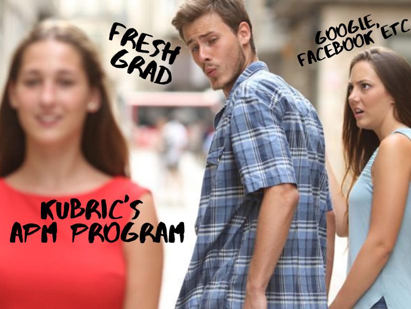 Meme - Google APM vs Kubric APM